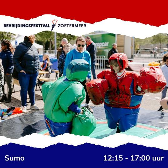 Bevrijdingsfestival Sumo
