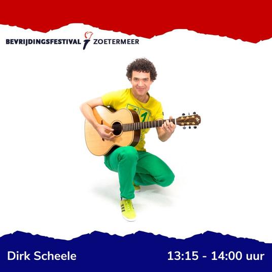 Bevrijdingsfestival Dirk Scheele