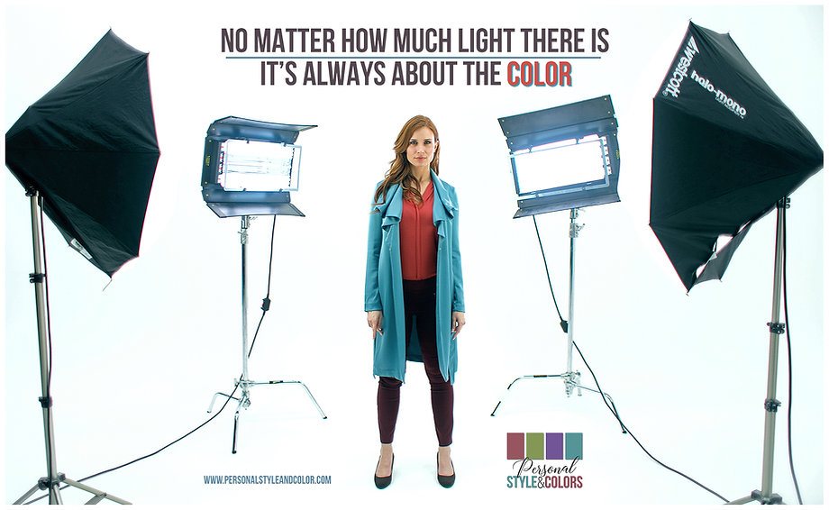 No Matter How Much Light - Colour Shadow
