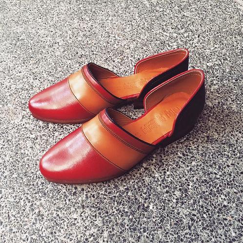 Leaf Sandal - Cherry B