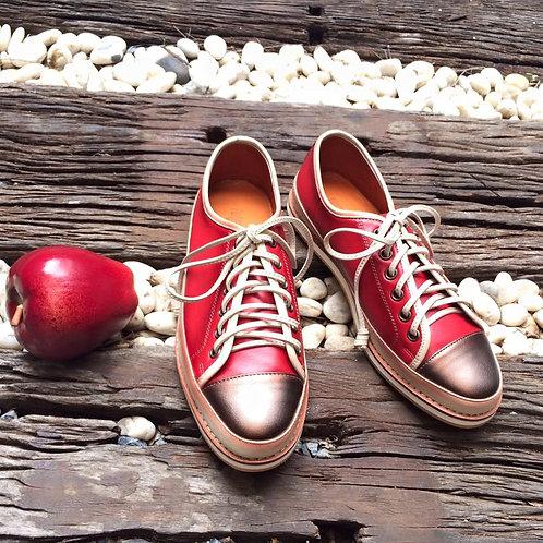 Sneakers - Golden Red