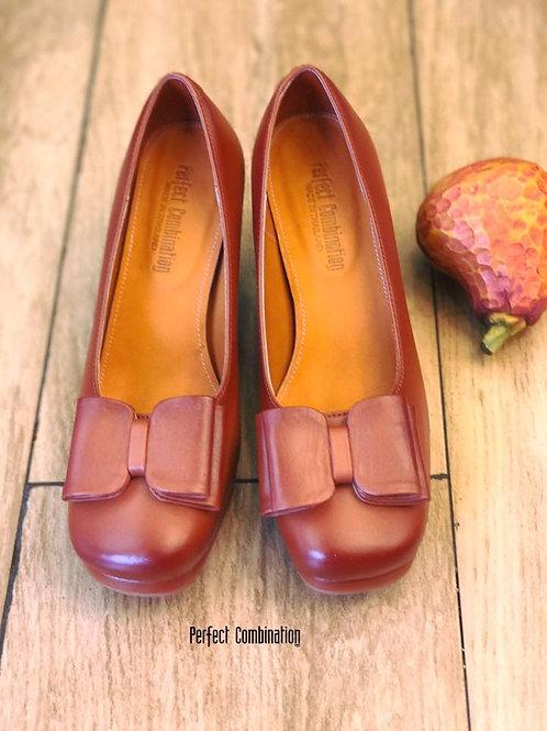 Minny High Heel - Tan