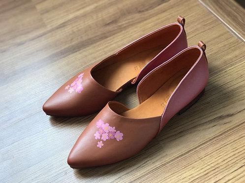 Woody Sandal - Pink Sakura
