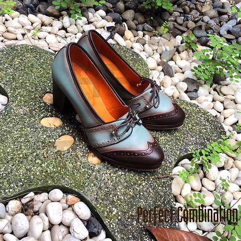 Vintage High Heel - Blusky Coco