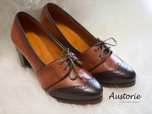 Vintage High Heel - Brown