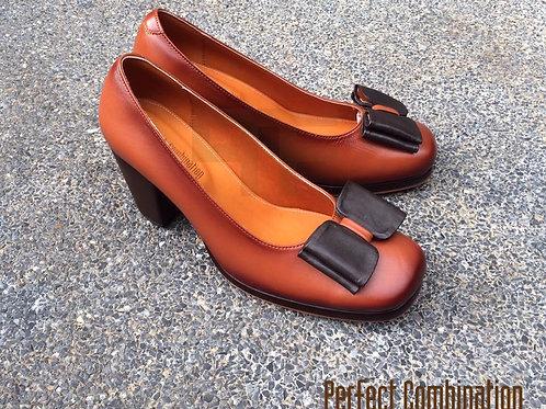 Minny High Heel - Brown