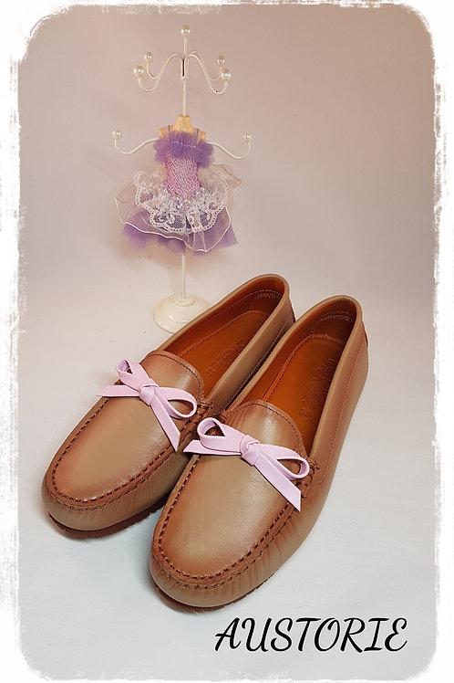 Aris Bow - Beige Pink