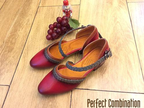 Spacey Sandals - Cherry
