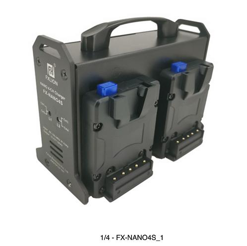 FX-NANO4S  NANO 4-ch V mount charger