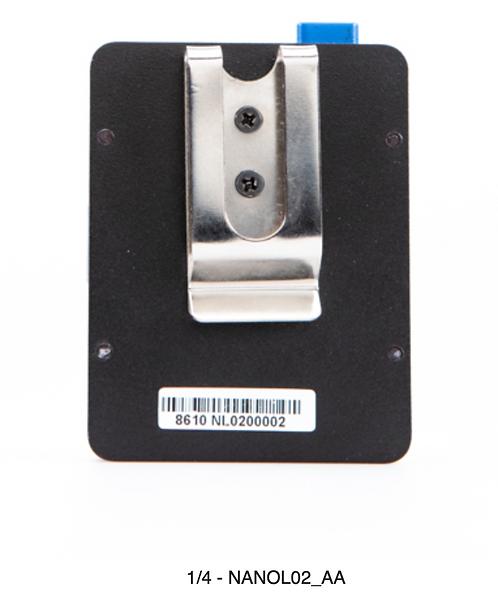NANOL02  NANO V-lock Plate with useful hook