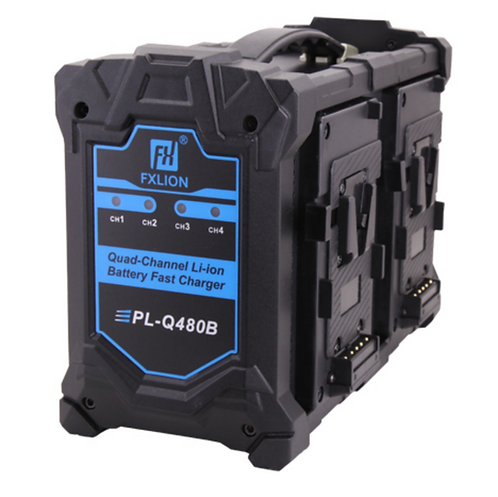 Quad-channel V mount Quick charger PL-Q480B