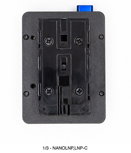 NANOLNP-C  Suitalble for 7.4V DC input device using sony NP-F battery