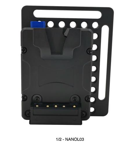 NANOL03  NANO V-lock Plate for Camera cage