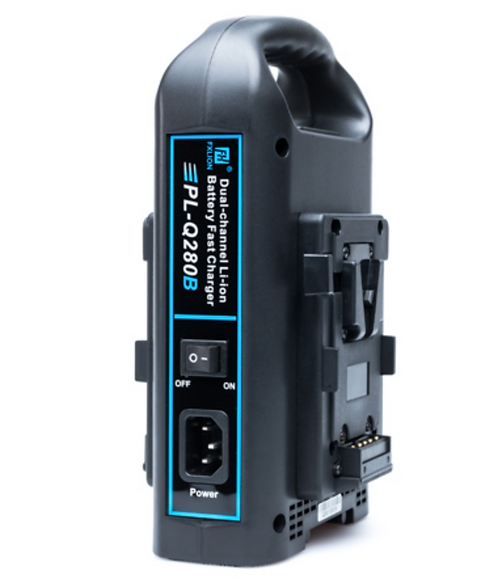 Dual-Channel V-Mount Quick Charger PL-Q280B