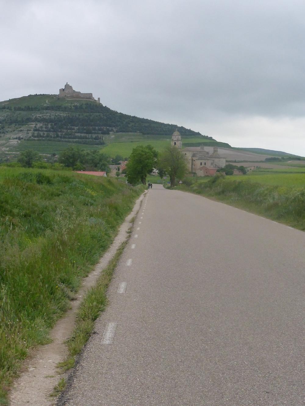 Castrojeriz's village Castle