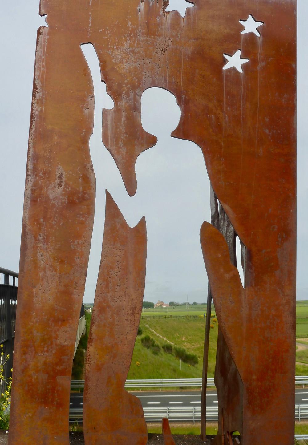 Camino Pilgrim artwork