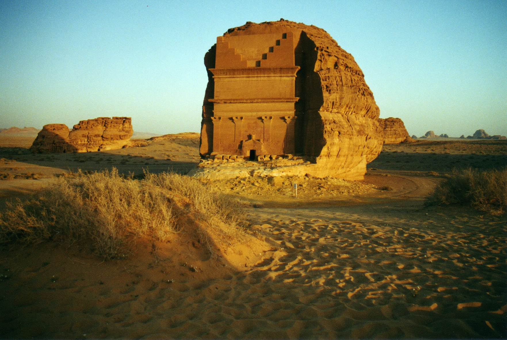 2002 Mada'in Saleh, Saudi Arabia