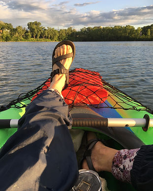 MN_ Kayaking away