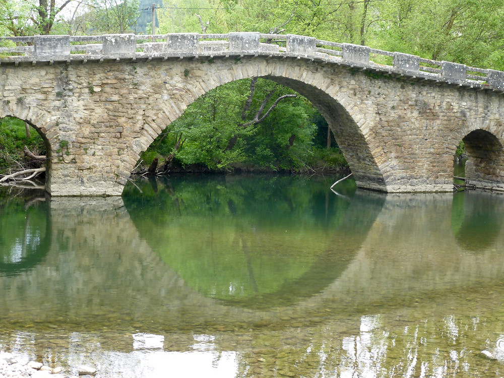 Bridge outside Zabaldika on the Camino de Santiago