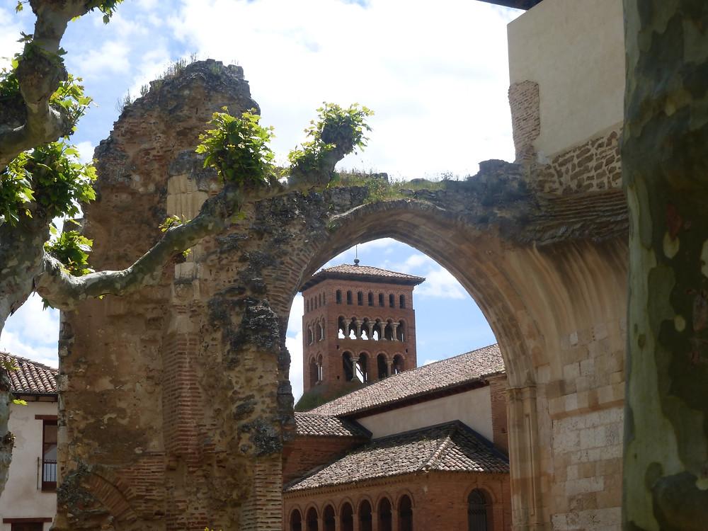 Old remains in Sahugan, Spain