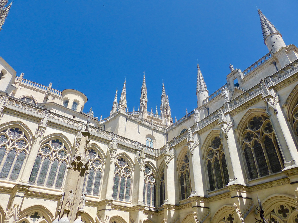 Burgos Cathedral in Spain, Camino cathedral