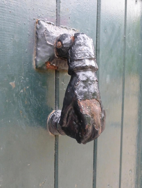 Traditional Spanish Door Handle