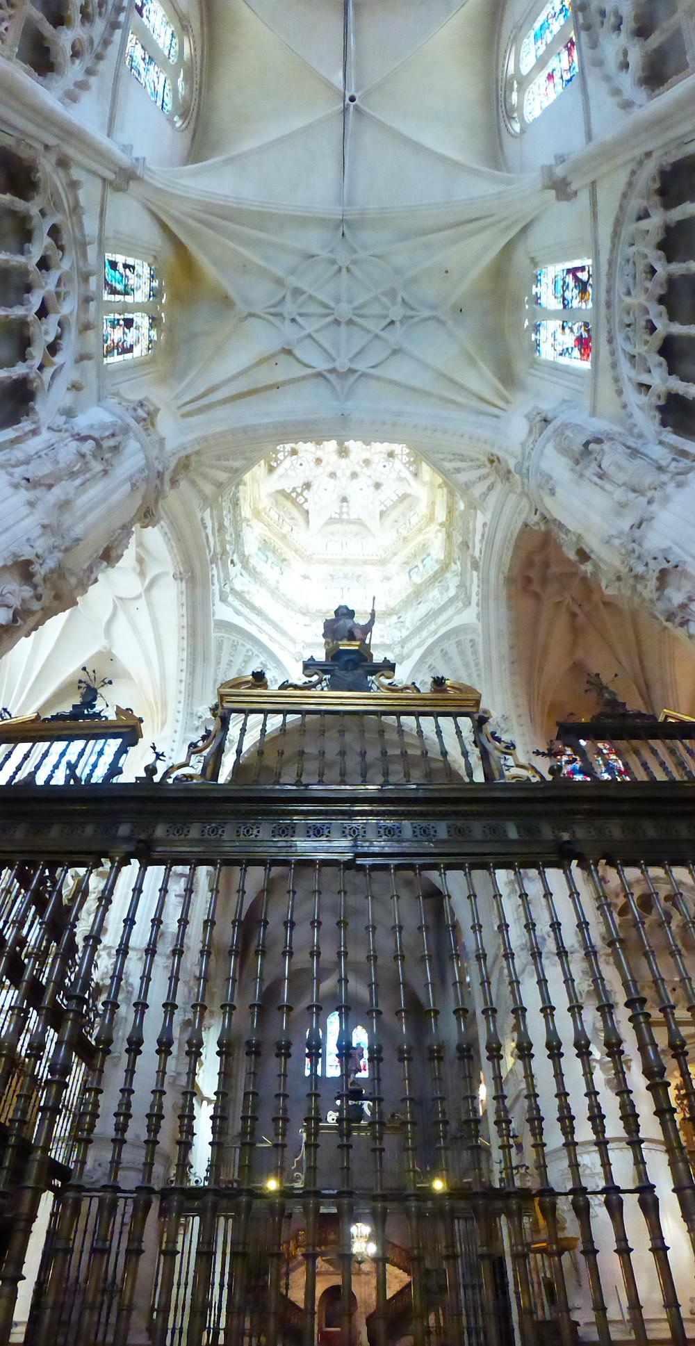 Burgos, Spain Cathedral interior