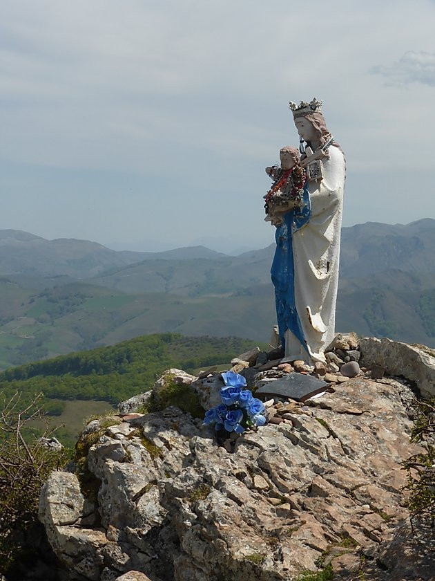 The Virgin Mary in the Pyrenees