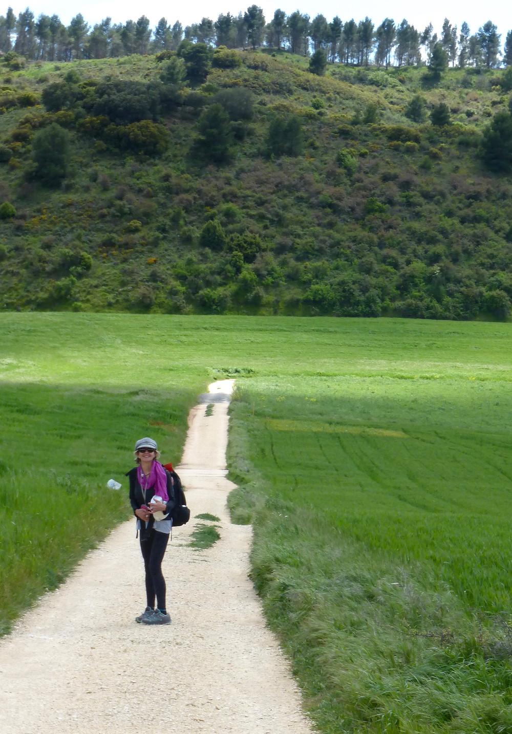 Meditative trail Spain, Camino de Santiago, Peregrino