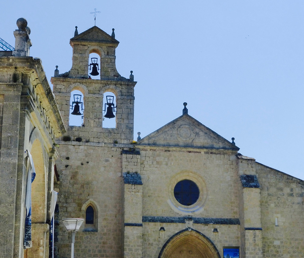 Spanish Church Front with bell tower