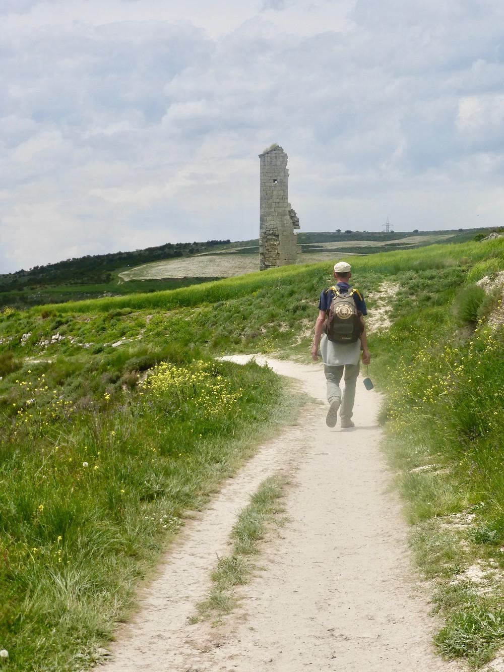 Walking solo on Camino