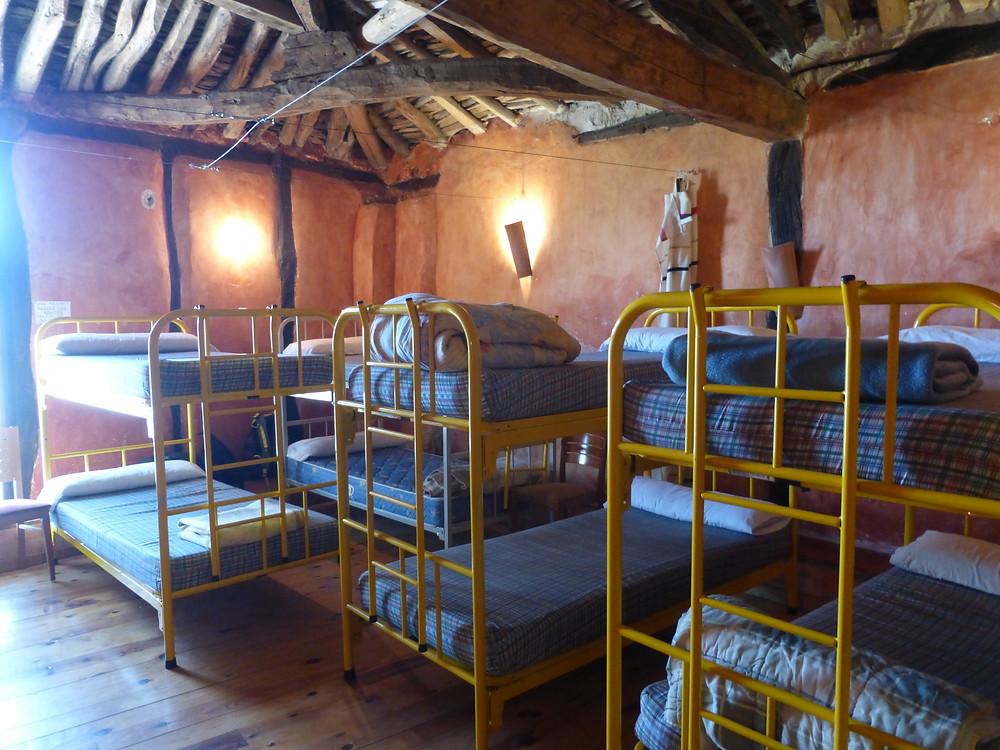 Camino Bunkhouse, hostel living, Camino de santiago