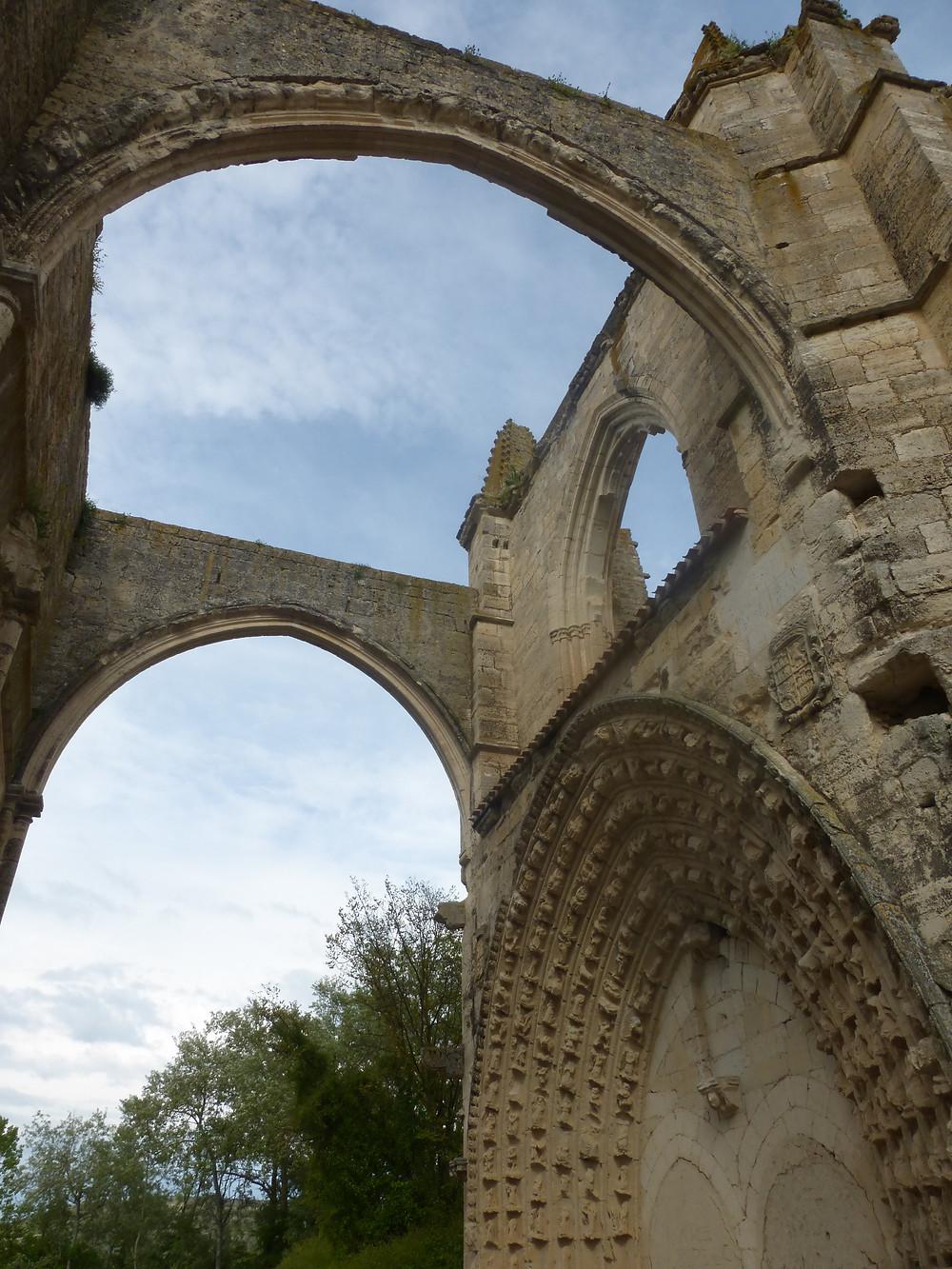 Arches on San Anton Monastery