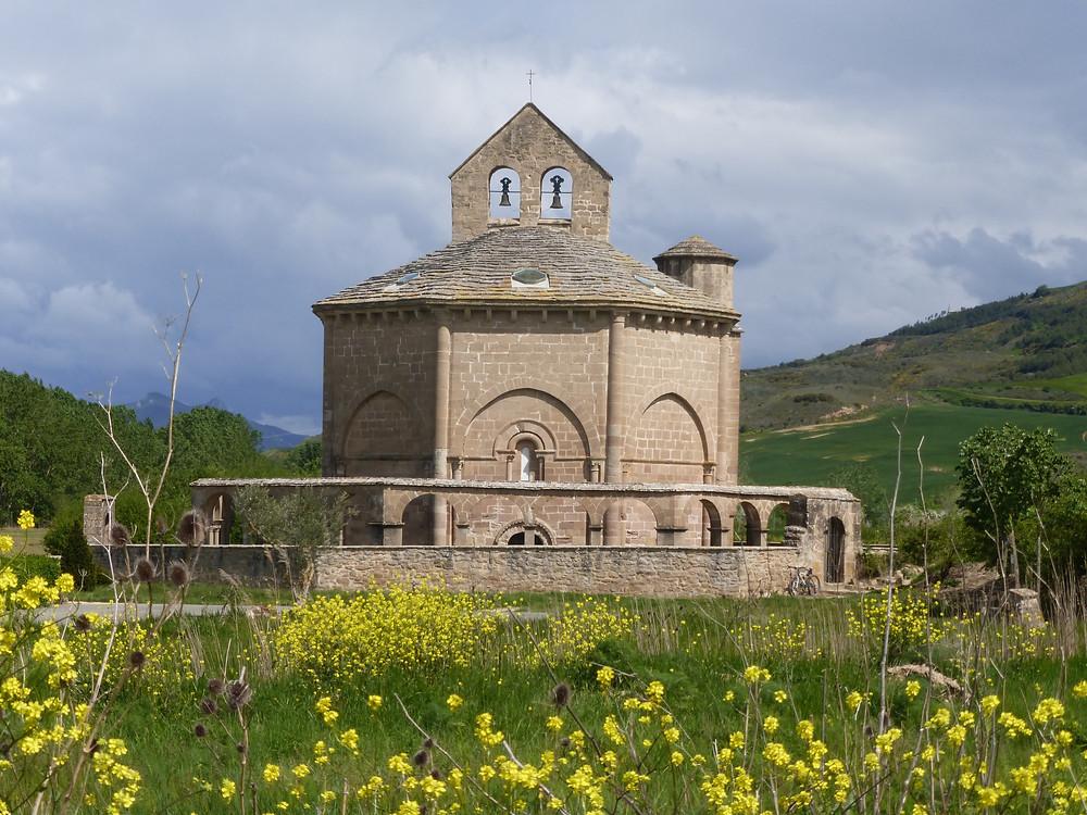 12th century Romanesque Church of Santa Maria de Eunate