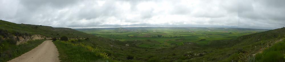 View above Castrojeriz