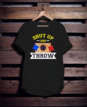 Shut up and throw
