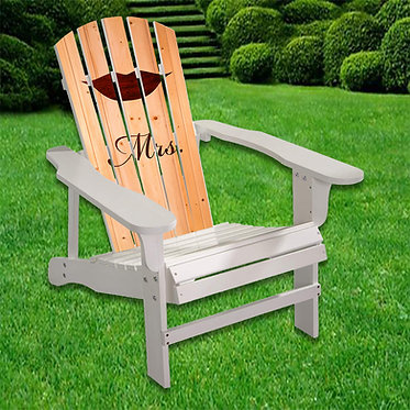 Lips Mrs Adirondack Chair wrap