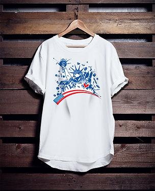 New York America tshirt