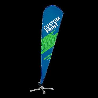 Teardrop Flag - Custom Design and Hardware