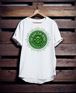 Eat Sleep Cornhole Shirt