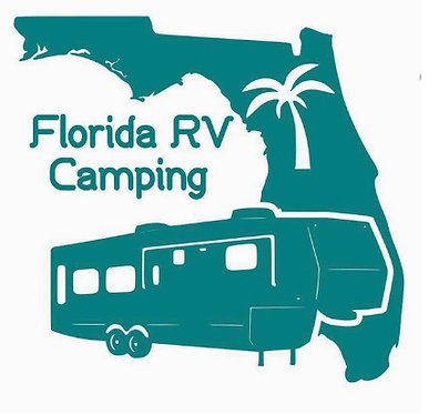 Florida RV Camping Fifth Wheel Decal 6""