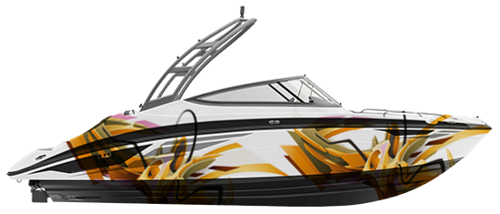 boat designs, boat graphic, vinyl decals for boats, four winns decals