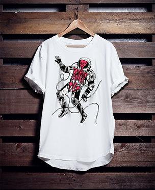 Spaceman Skeleton tshirt