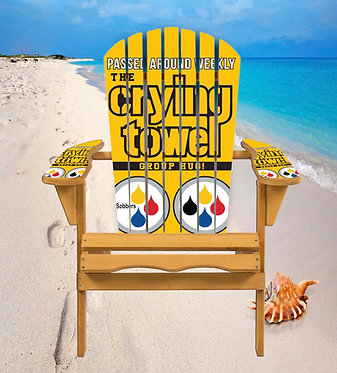 The Crying Towel Adirondack Chair Wrap Decal