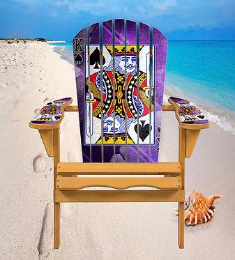 Cards King Adirondack Chair Wrap