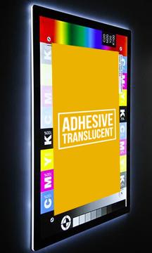 adhesive translucent