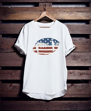 Football Flag tshirt