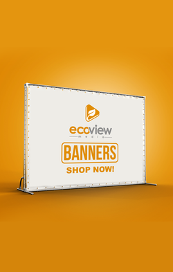 banner stands, custom banner