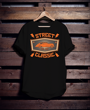 Street Classic Car 2017 Tshirt
