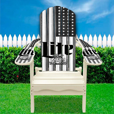 Miller Lite Adirondack Chair wrap
